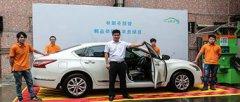 张先生做自助洗车项目一个月躺着收钱不上班